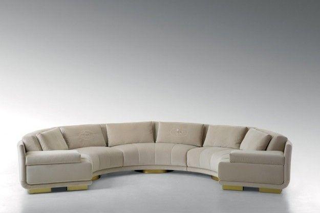 Fendi Casa Presenta Il Catalogo 2015 Fendi Casa Curved Sofa