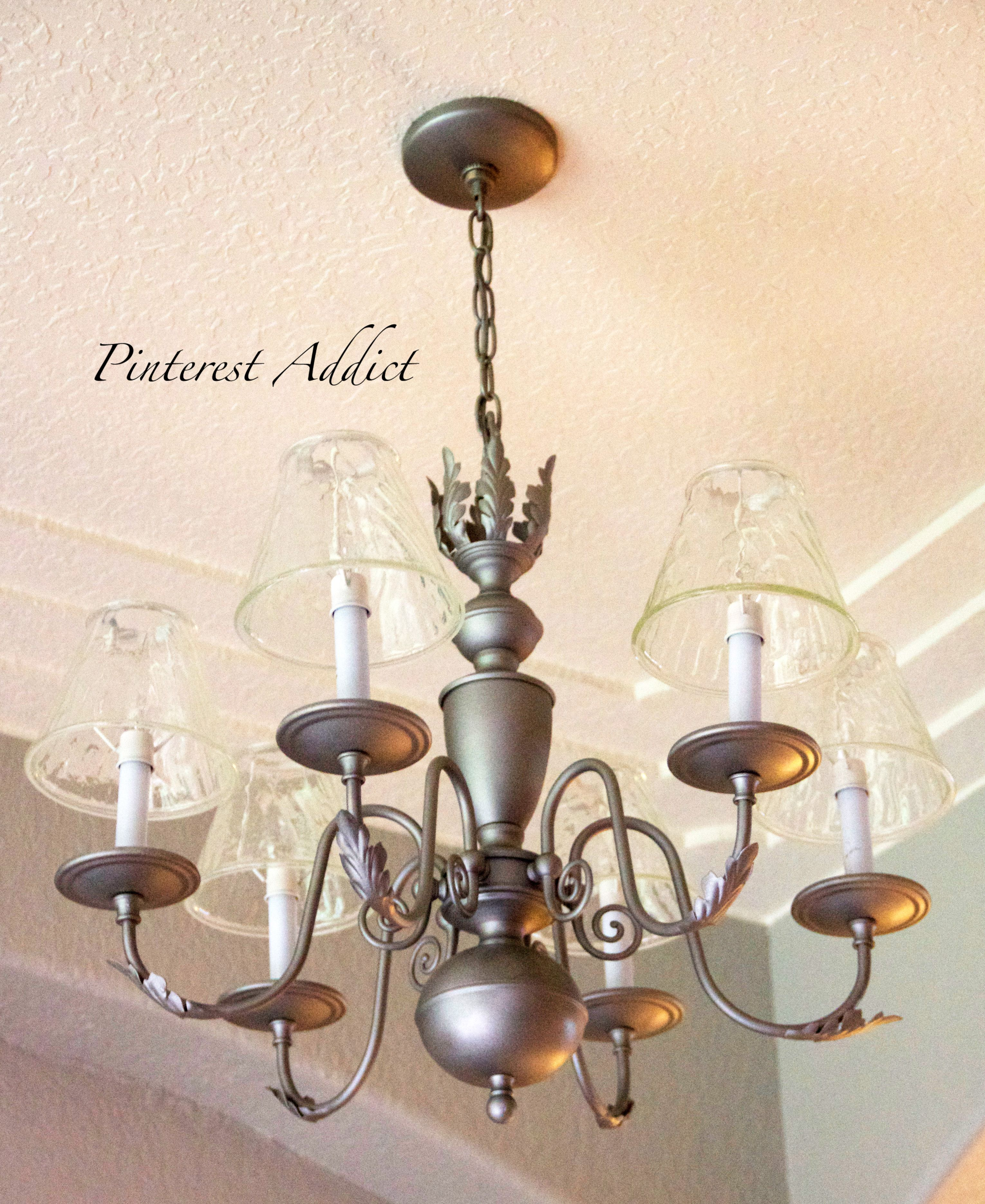 Painting Dining Room Chandelier: Light Fixture Makeovers And Replacements