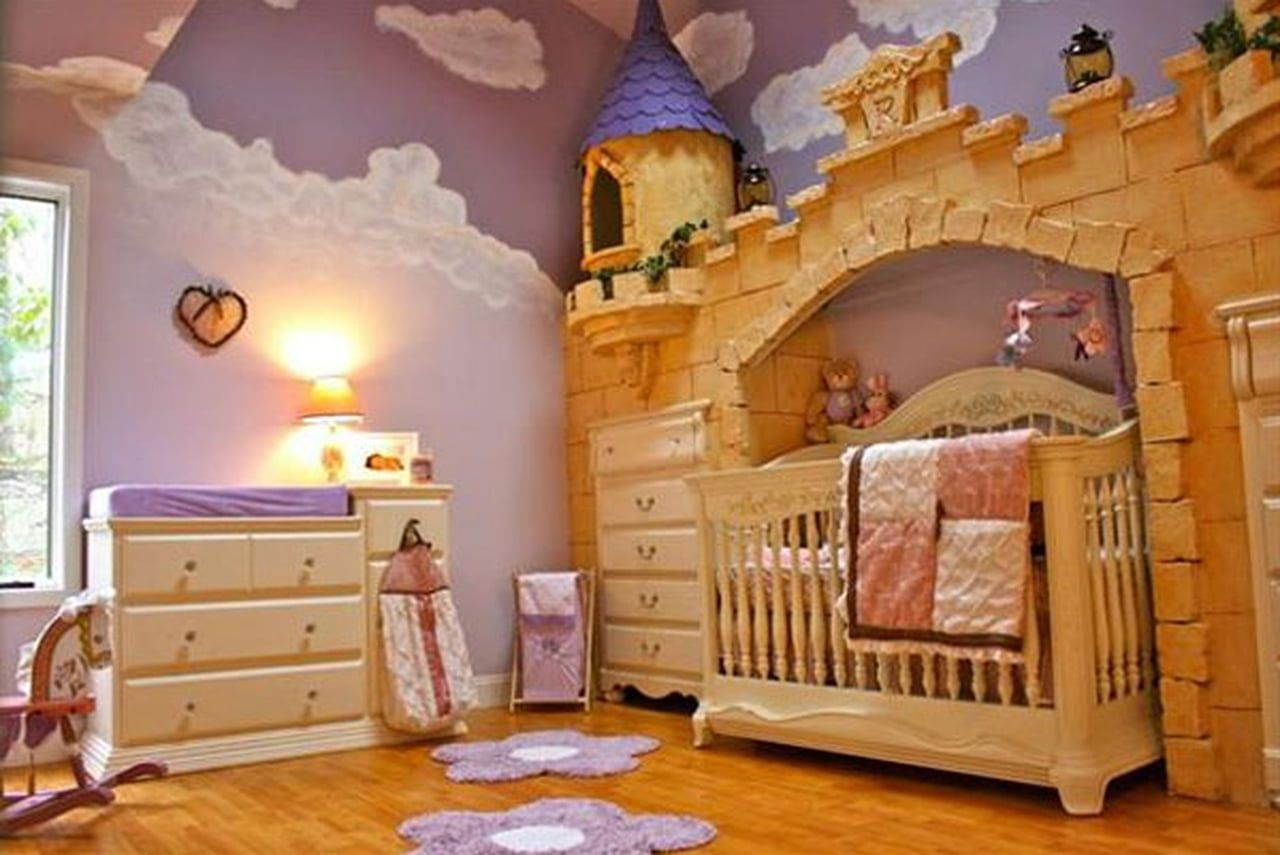 82 reference of best baby girl crib in 2020   Princess ...
