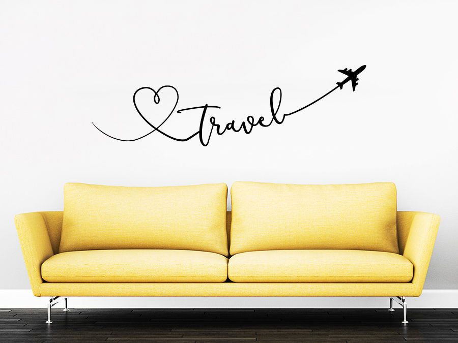 Best Details About Travel Quote Travel Wall Decal Love Planes 400 x 300