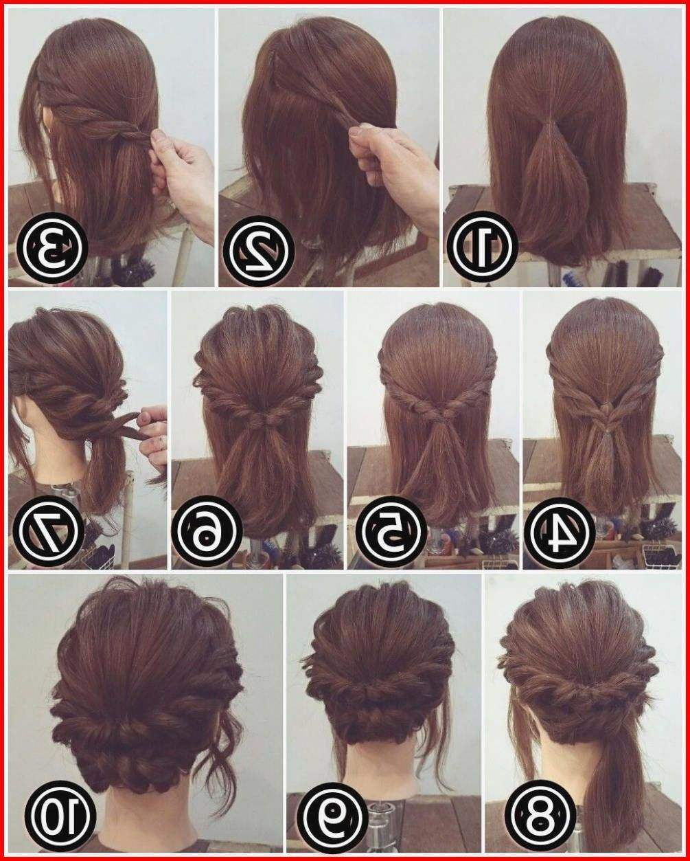 the tuck and cover cute hairstyles for long hair, one of the