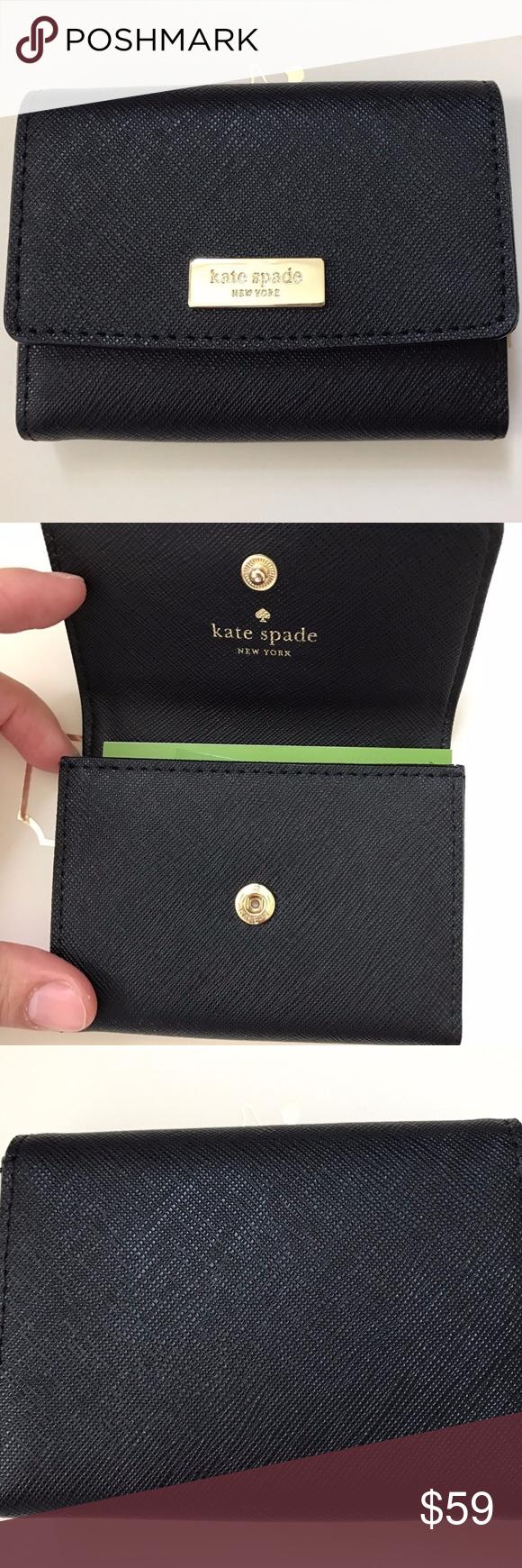 Kate Spade Large Holly Credit Card Case Holder Credit Card Cases Kate Spade Clothes Design