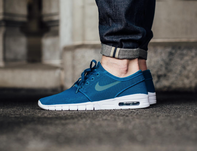 Bold Blue Coats The Nike SB Stefan Janoski Max