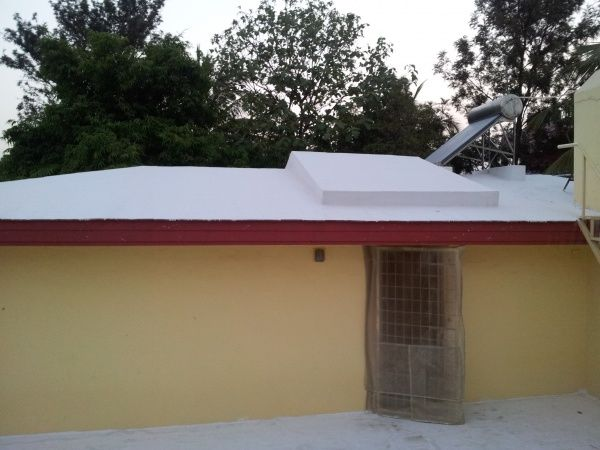 Diy Beat The Summer Heat With A White Roof Summer Heat Heat Roof