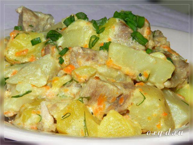 Тушеная картошка 32 рецепта с фото пошагово. Как тушить 67