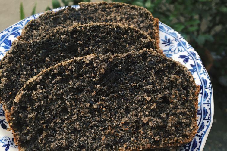 black sesame coffee loaf cake  recipe  loaf cake recipes