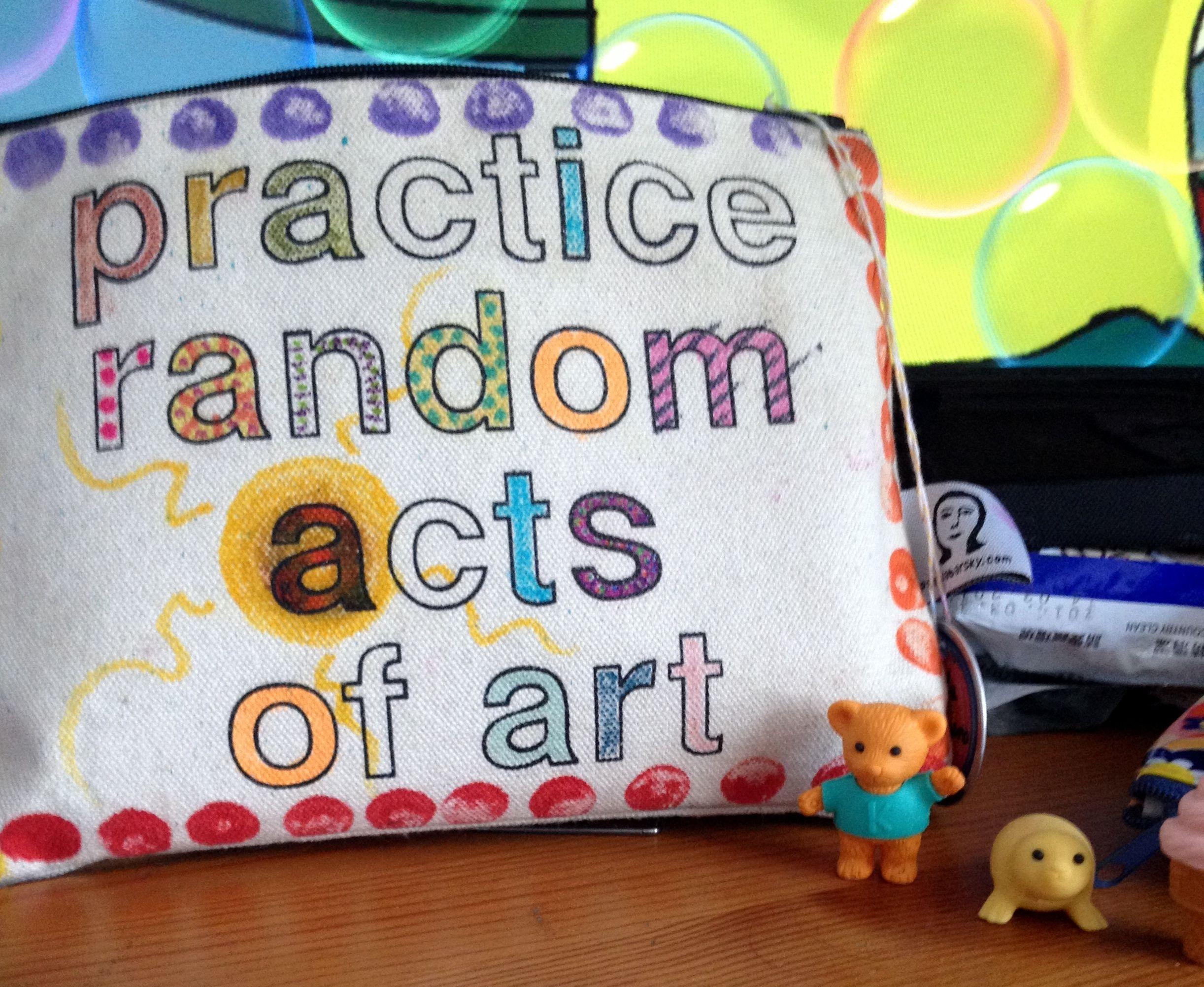 Practice Random Acts Of Art IT HAS ARRIVED! YahPeep