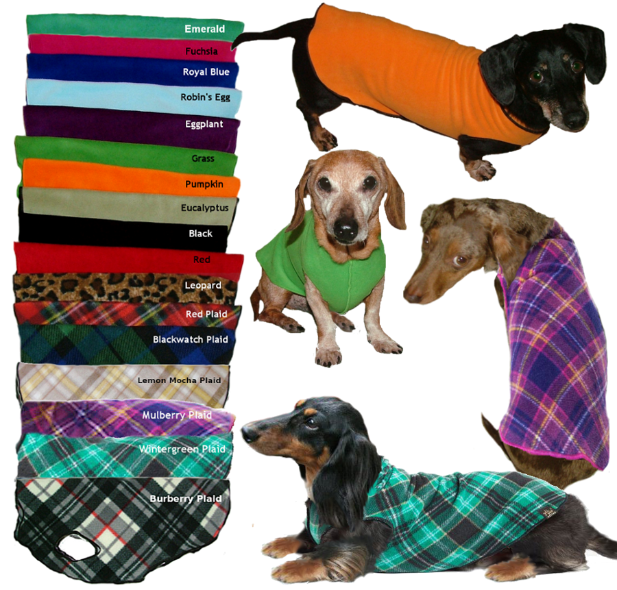 Cozy Fleece Dachshund Sweater Adorable Dachshunds Pinterest