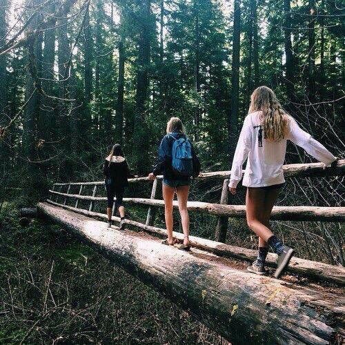 Imagem de friends, nature, and adventure
