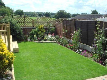Ideas para jardines peque os pinteres for Ideas jardines pequenos