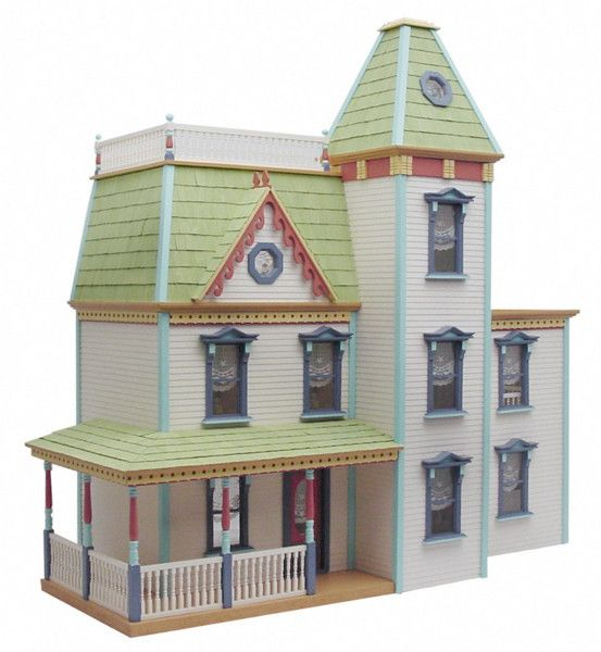 e9fd2c52090 Lilliput Apple Blossom dollhouse kit is one of the most popular Victorian  houses in America!