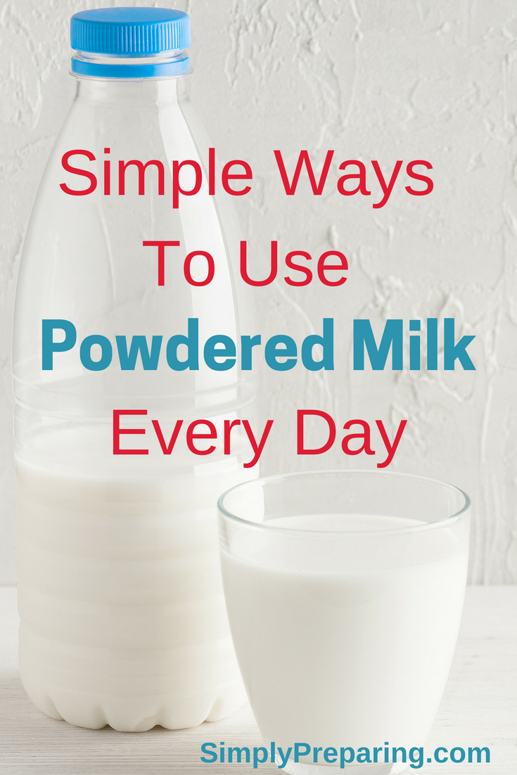 Everyday Uses For Powdered Milk Food Storage Simply Preparing Milk Recipes Homemade Coffee Creamer Powder Coffee Creamer