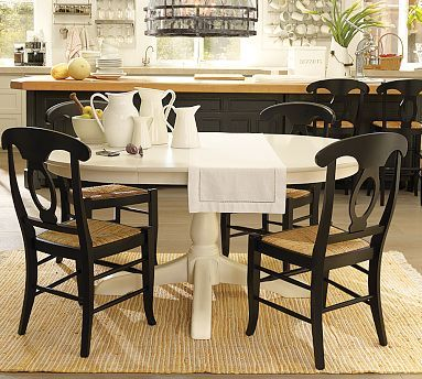 Sawyer Extending Dining Table Pottery Barn Dining Room
