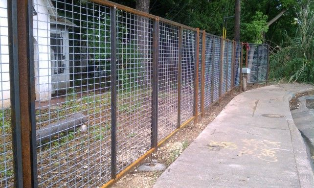 Square Tubing Fence Designs | Tyres2c
