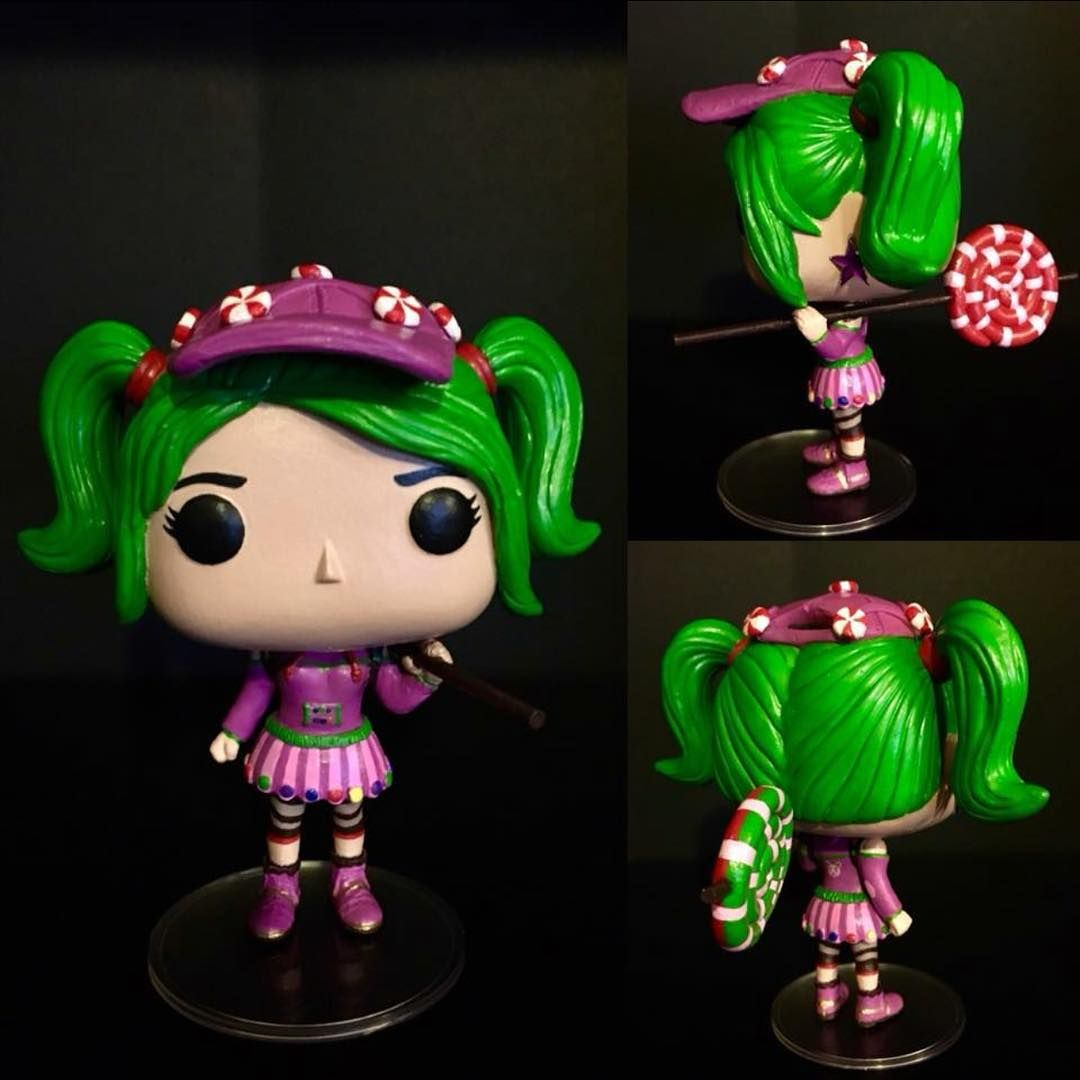 Fortnite Custom Zoey Funko Pop Dont Know The Owner Funko Funkopop