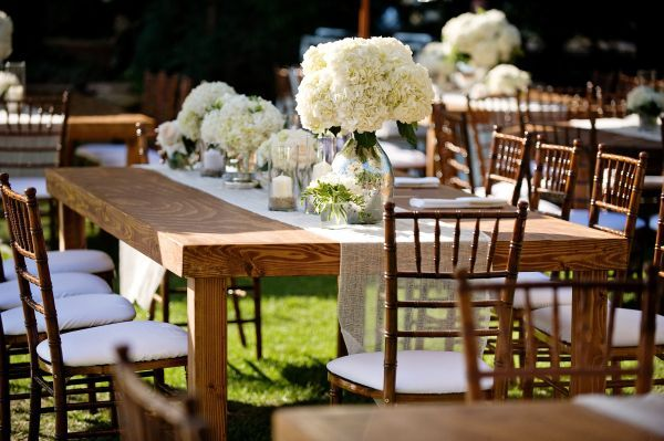 Classic Black And White Malibu Wedding
