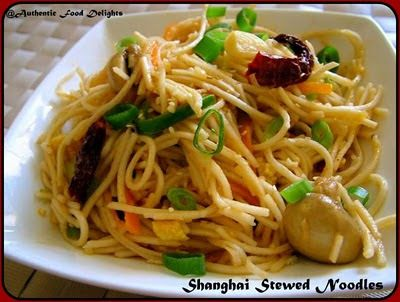 Shanghai Stewed Noodles Indo-chinese