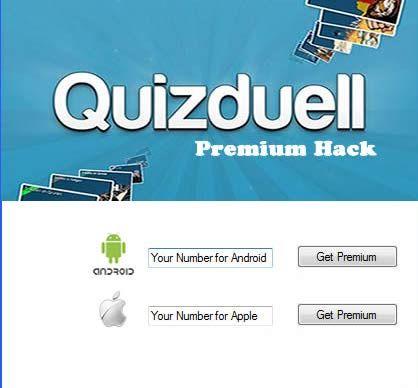 Quizduell Premium Hack Tool No Survey (Android iOS