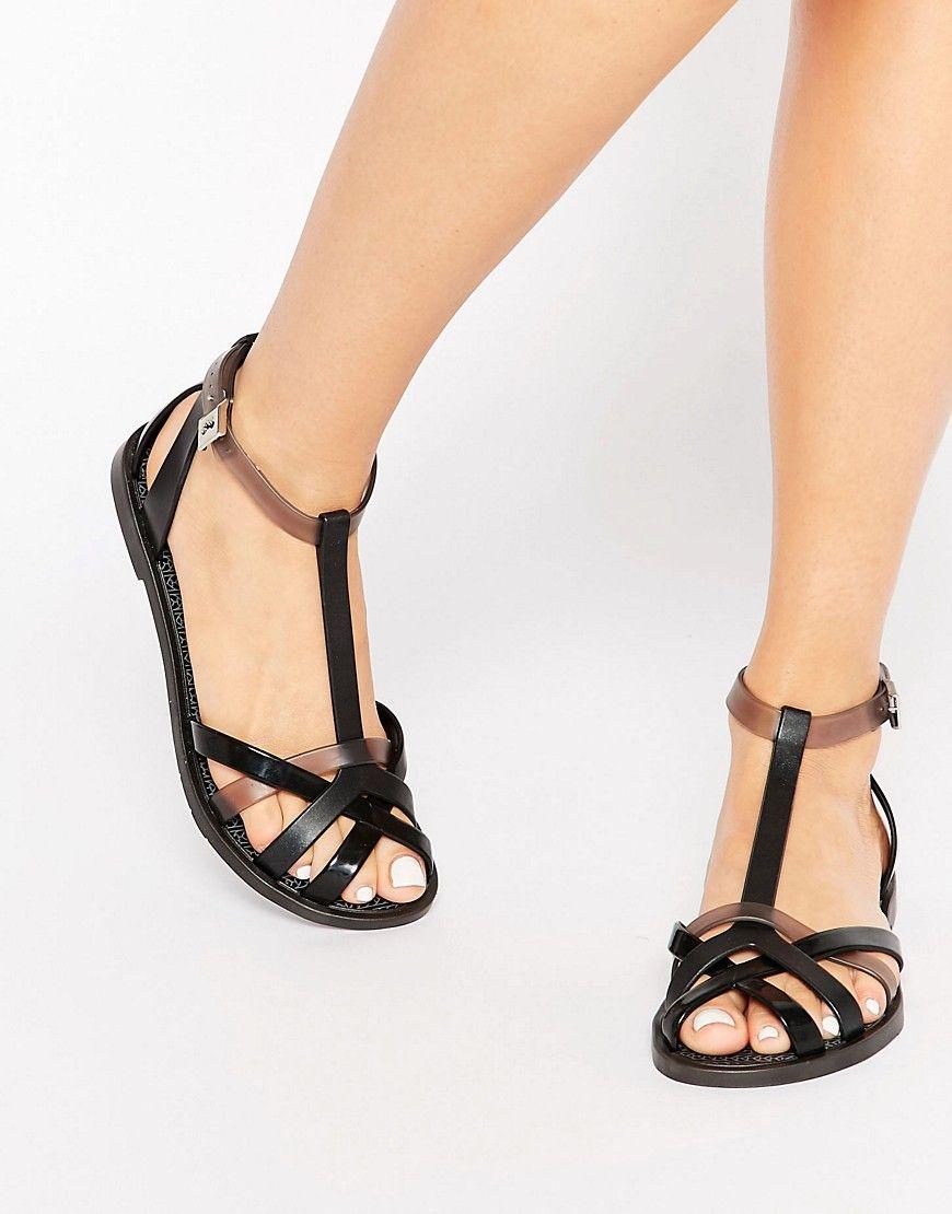 Image 1 of Zaxy Frozen Gladiator Flat Sandals