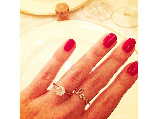 Lauren Conrad's Engagement Ring!!