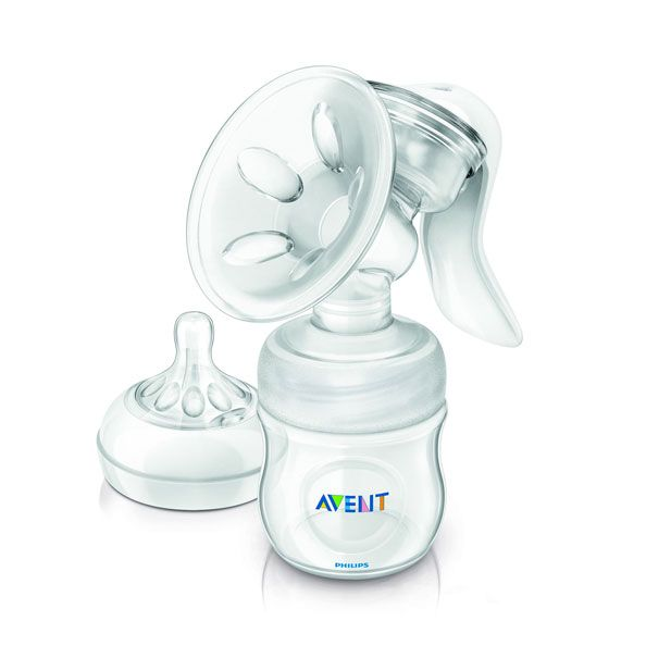 Extractor de leche manual Natural #Avent para combinar tu #lactancia