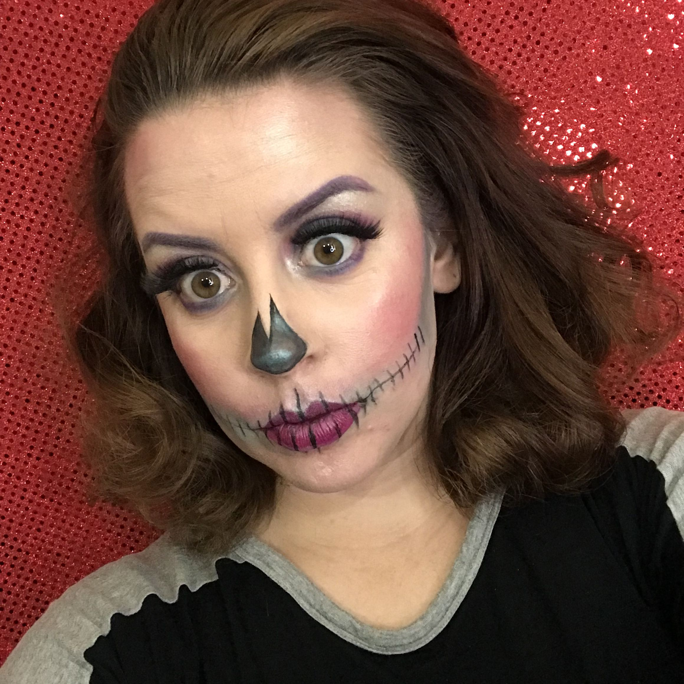 Quick Skull Makeup Halloween makeup, Skull makeup