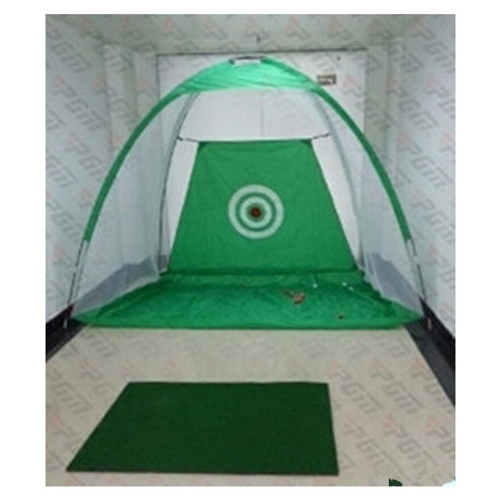 golf net practice exercises driving chipping soccer cricket mat