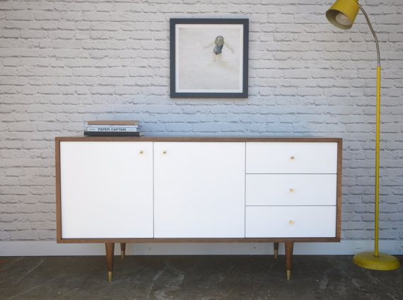 Bristol Credenza with Teak Finish
