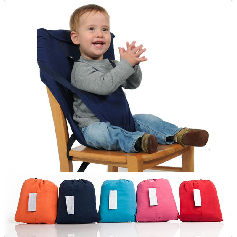 Portable Baby Chair Feeding Seat With Safety Belt Portable Baby
