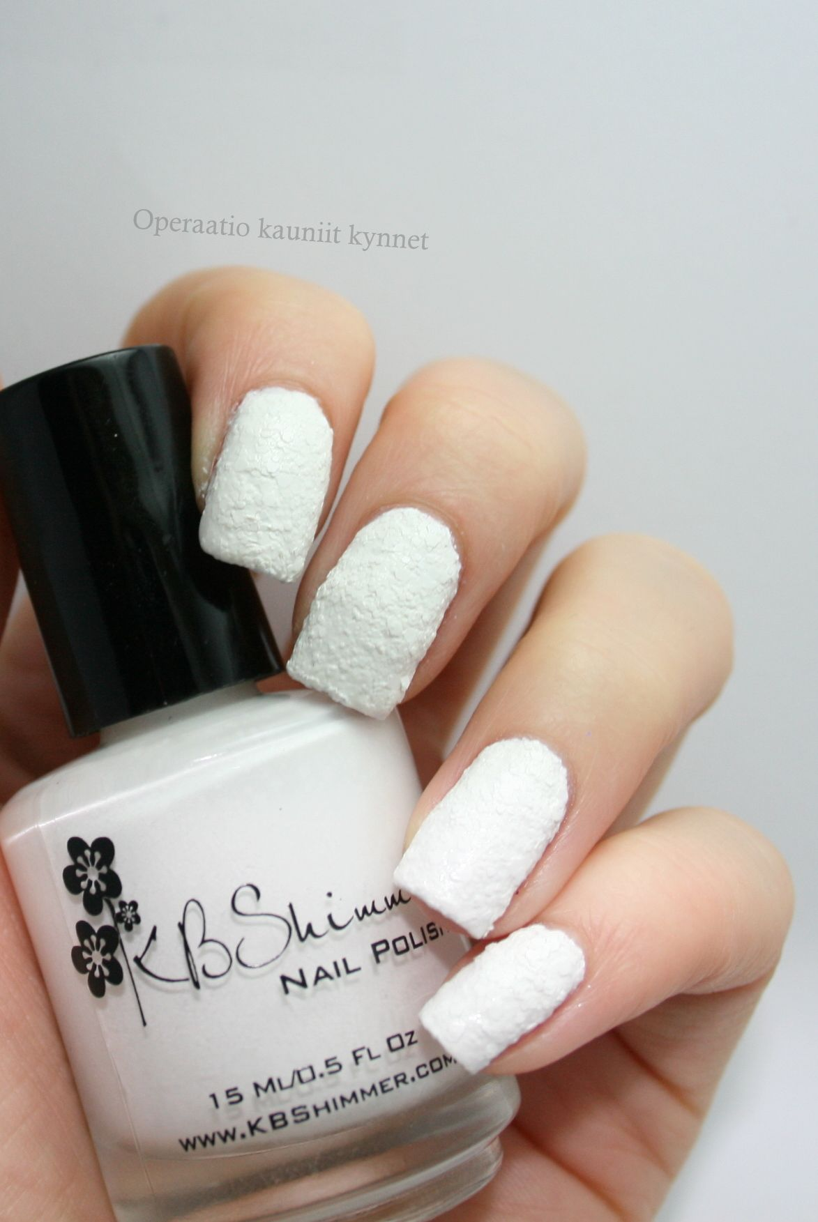 KBShimmer - White Here, White Now