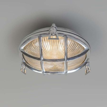Wall ceiling lamp nautica round chrome wall lights indoor lighting lampandlight