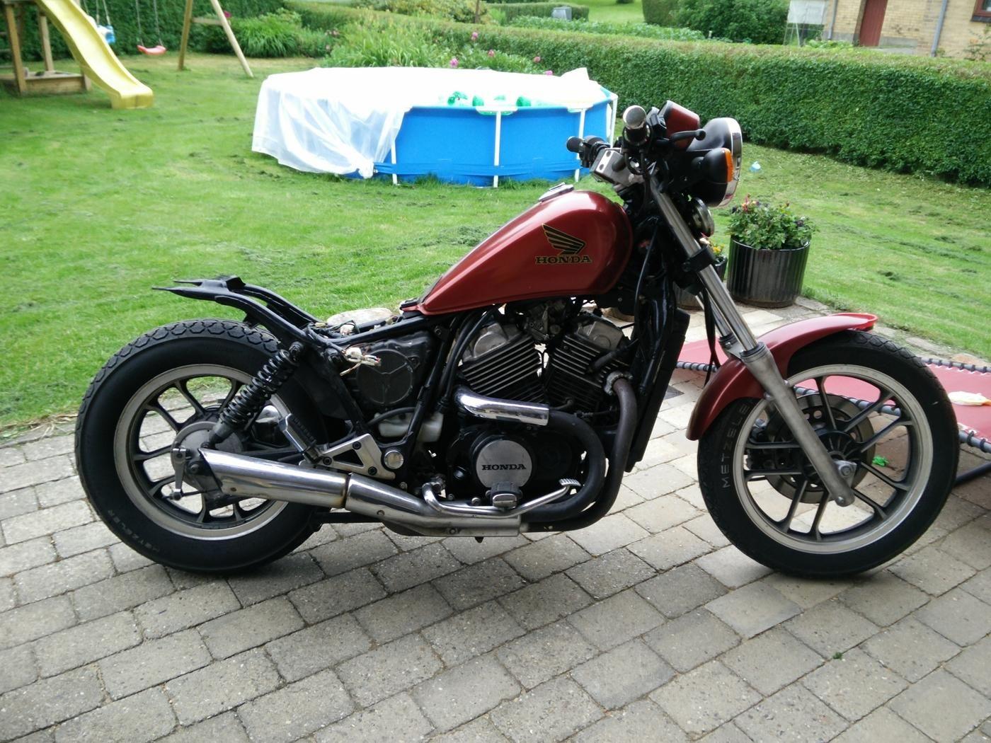 Honda Vt 500 C Bobber Honda Shadow Bobber Shadow Bobber Bobber