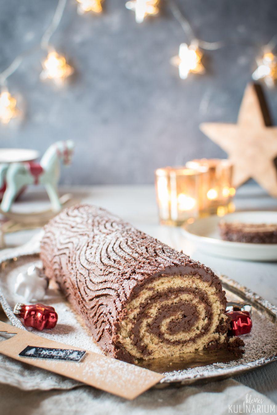 {Werbung} Bûche de Noël Weihnachtsbäckerei - Kleines Kulinarium