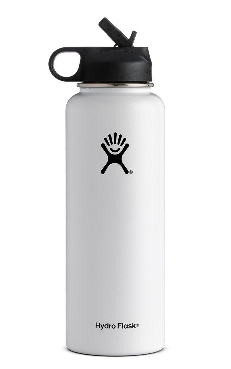 40 Oz Wide Mouth W Straw Lid Hydro Flask 40 Oz Hydro Flask Bottle Wide Mouth Water Bottle