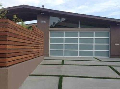 The Best Modern Garage Door Design Ideas 13 Modern Garage Doors Mid Century Modern Exterior Garage Door Design