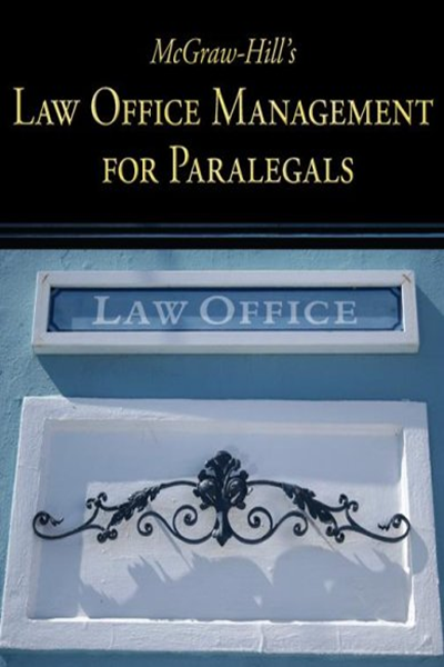 Mcgraw Hill S Law Office Management For Paralegals By Mcgraw Hill Mcgraw Hill Education Paralegal Office Manager Law Office