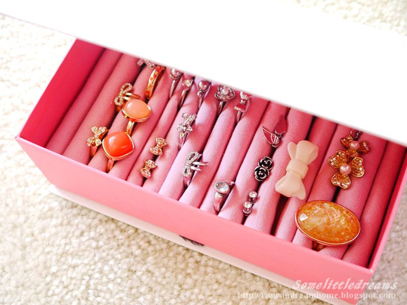 Ring and stud earrings jewelry holder box diy Stuff I want to