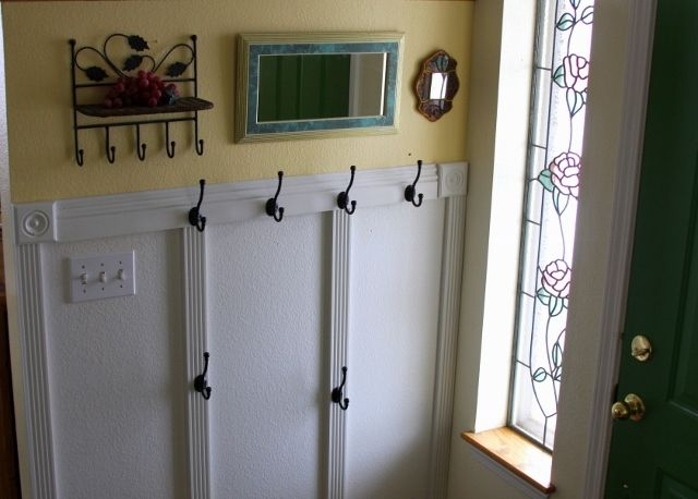 DIY Coat Rack For A Tiny Space
