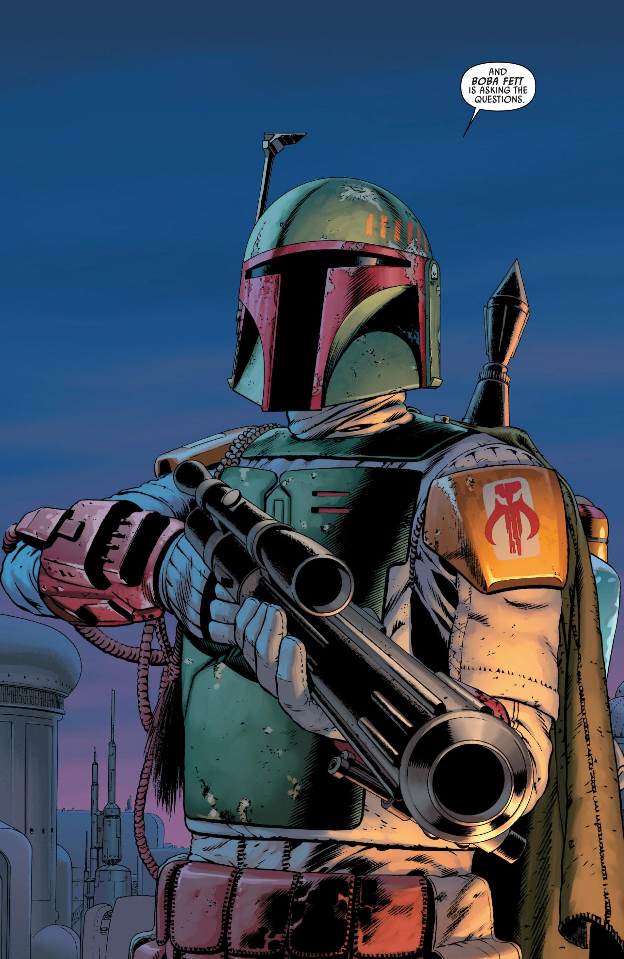 Boba Fett ( Star Wars Comic #4, By: John Cassady) | Stars ...