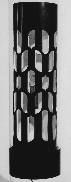 "Brion Gysin ""Dream Machine"" 1960-1976  From ""Licht Kunst Aus Kunst Licht"""