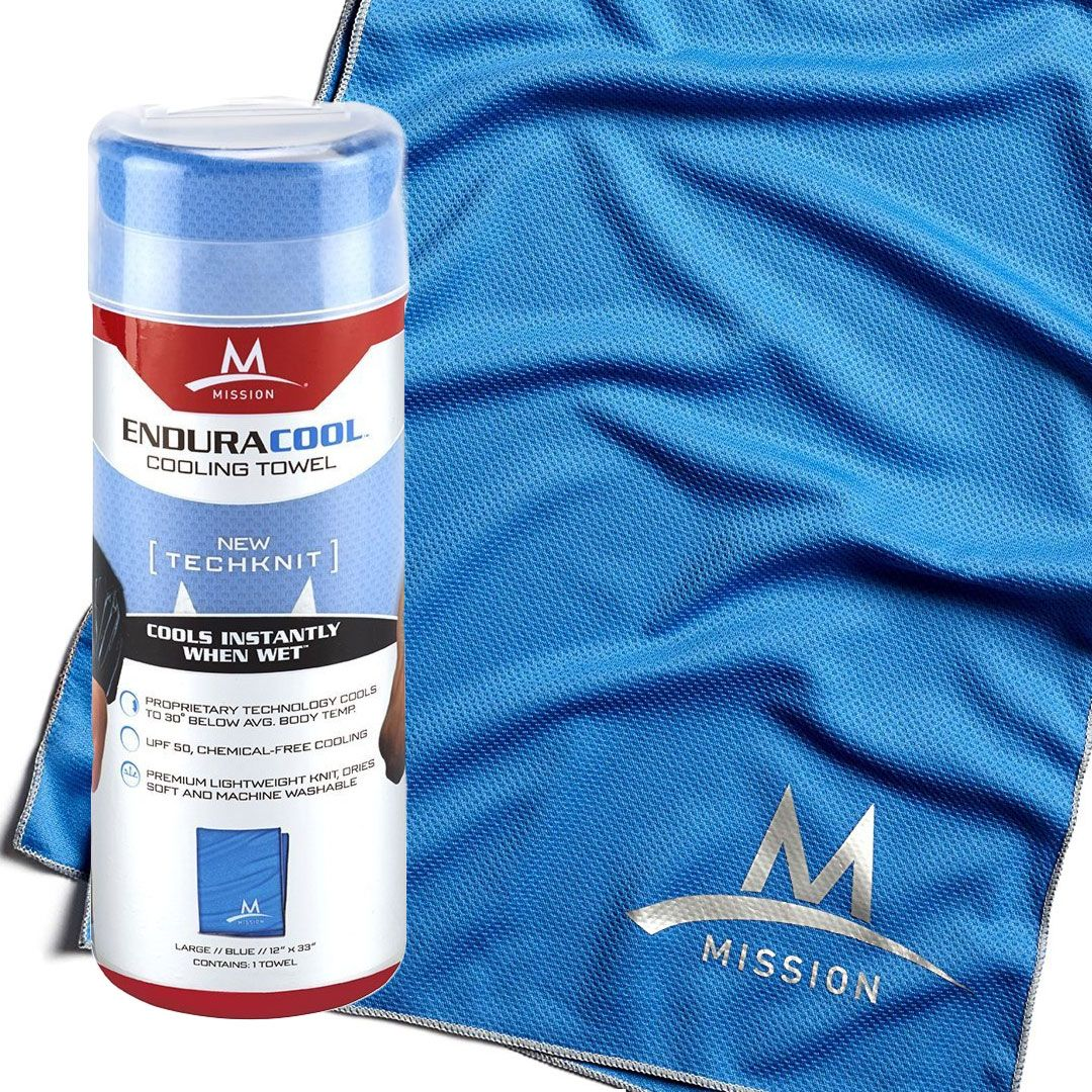 A Cooling Towel Mission Enduracool Will Cool You Down Cooling Towels Cool Stuff Average Body