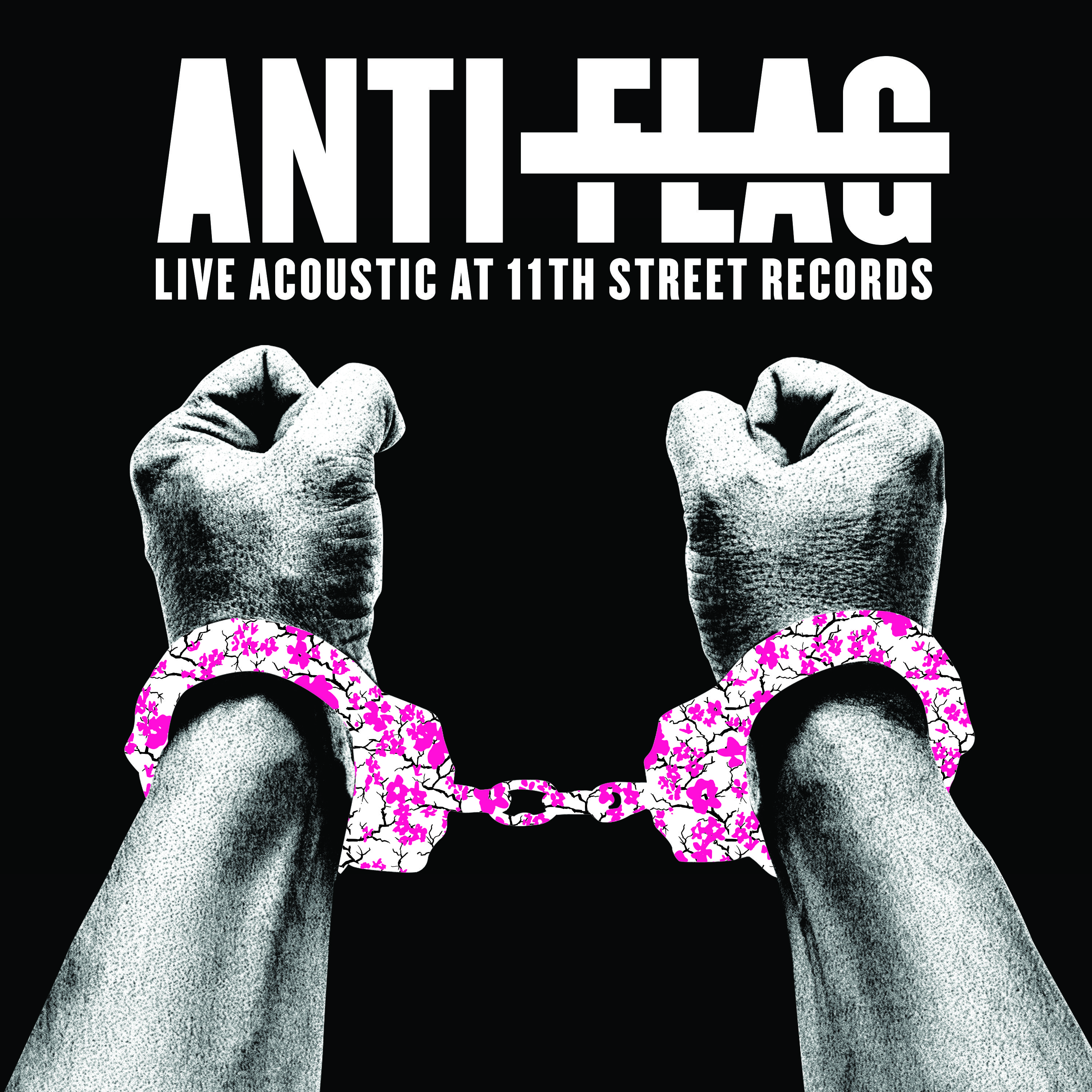 Anti Flag Release Live Acoustic Album Live Acoustic At 11th Street Records Out Digitally November 20 New York N Y P Anti Flag Record Store Album Covers