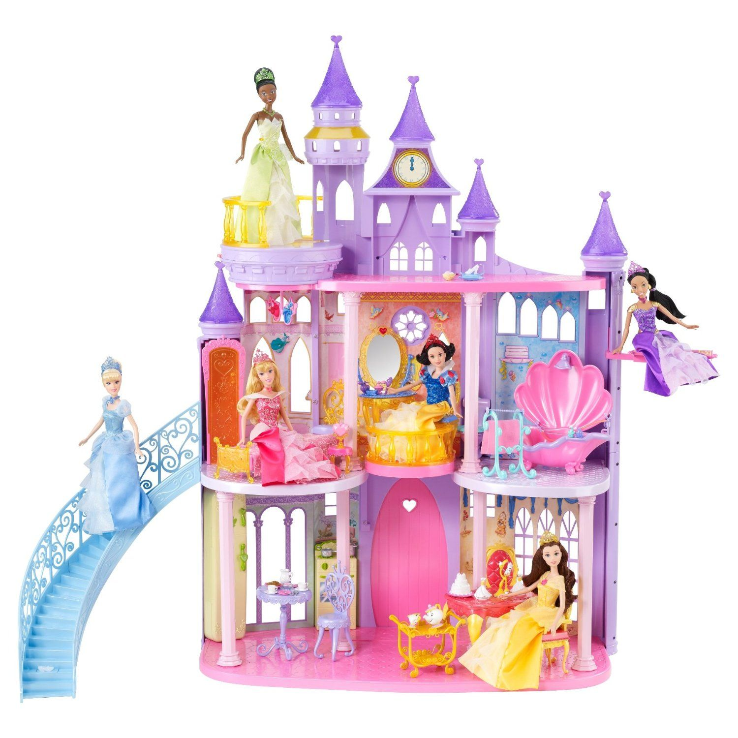 Disney Princess Ultimate Dream Castle Mattel Amazon Toys