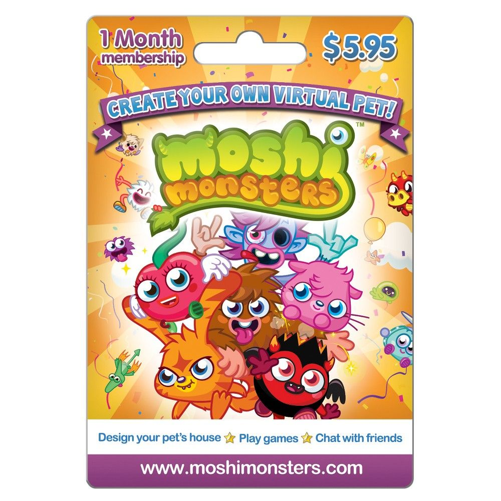 Mind candy moshi monsters 5 95 email delivery