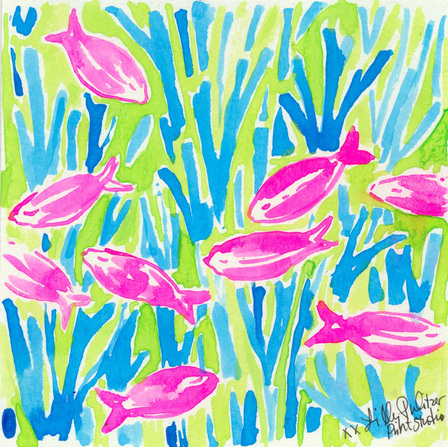 Floating free, it\'s Friday. #lilly5x5   Lili Pulitzer   Pinterest ...