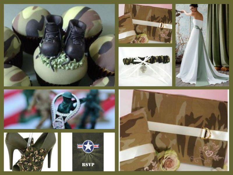 Army Wedding Theme