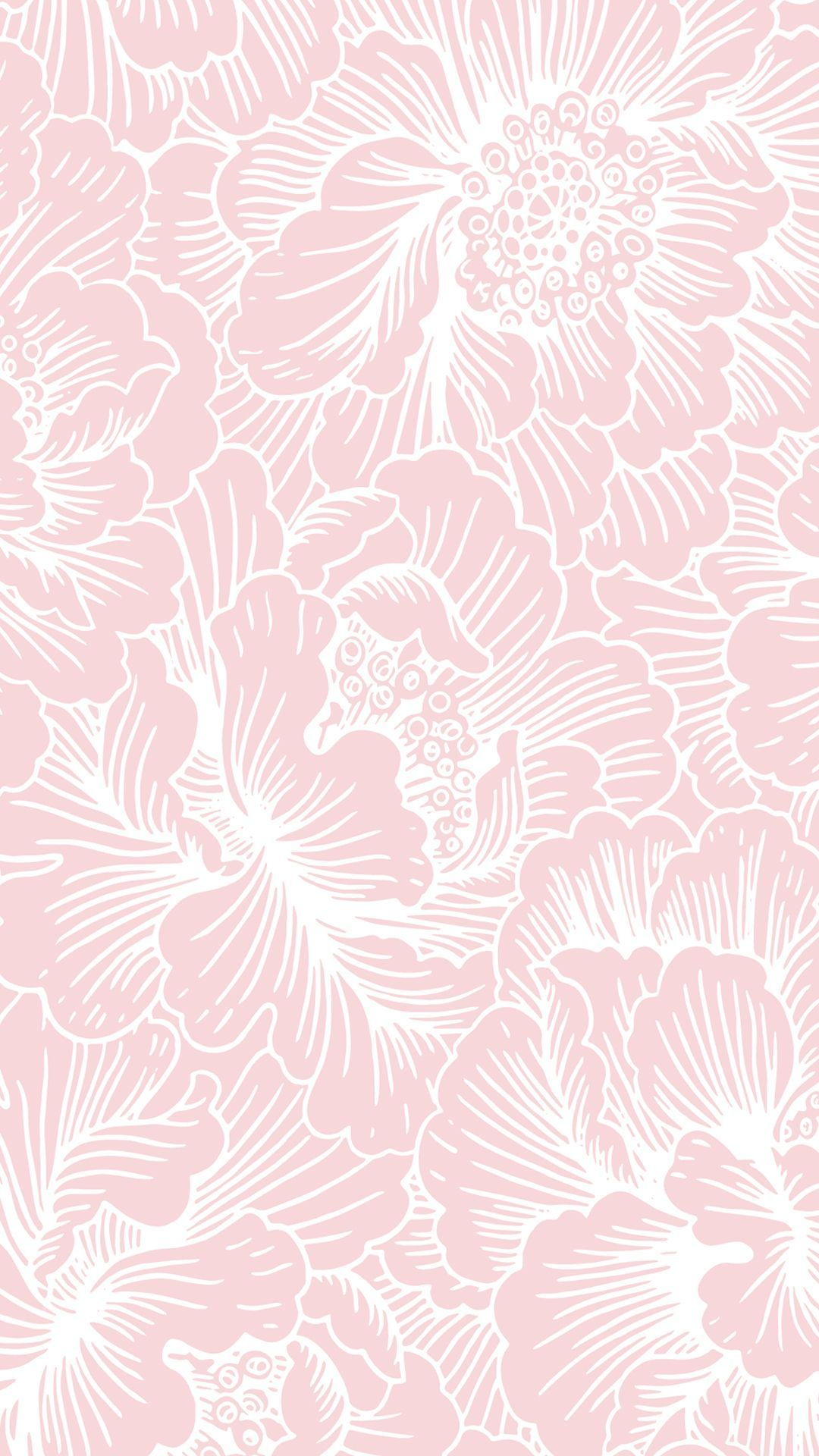Aesthetic Pink And White Background Flower Wallpaper Pink Wallpaper Floral Wallpaper