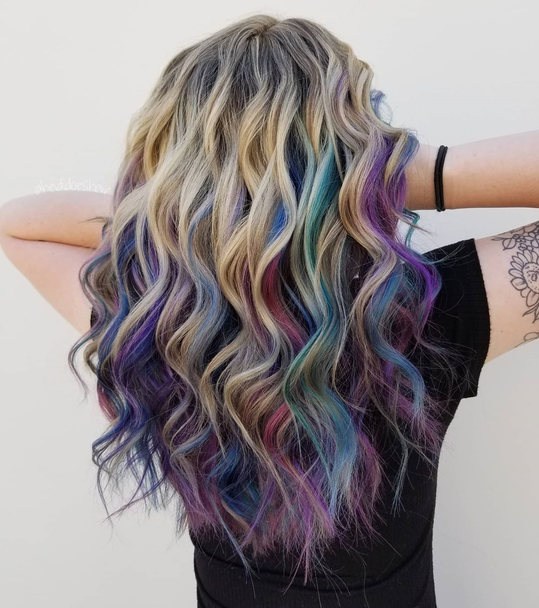 29 Rainbow Hair Color Ideas You Can T Miss Seeing This Year In 2020 Rainbow Hair Color Cool Hair Color Bold Hair Color