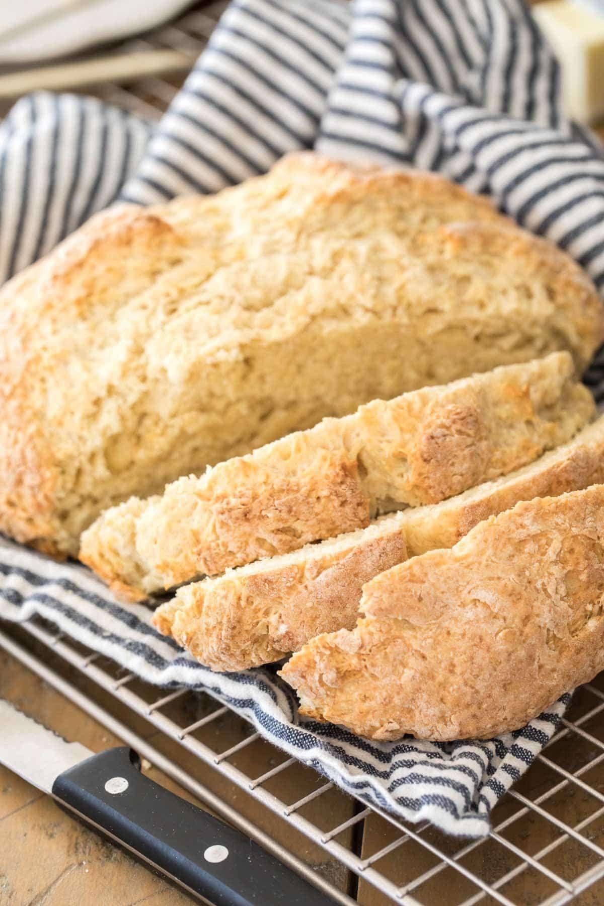 No Yeast Bread Soda Bread Sugar Spun Run In 2020 No Yeast Bread Dessert Recipes Easy Sugar Bread