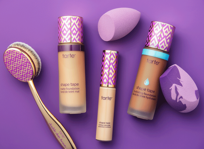 (image tarte website) Considering the popularity of the